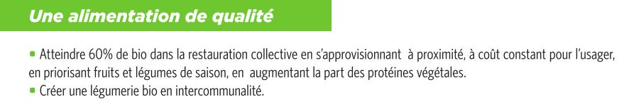 EELV : nos propositions - Page 3 Alimentation
