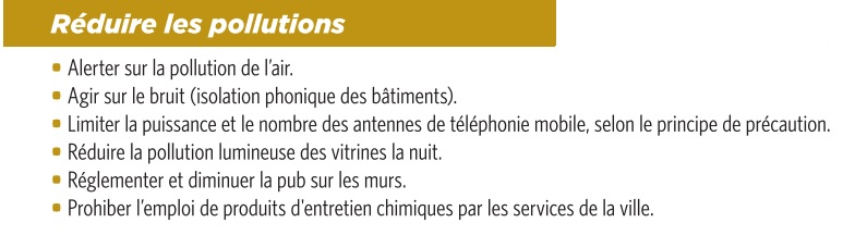 EELV : nos propositions - Page 3 Pollution