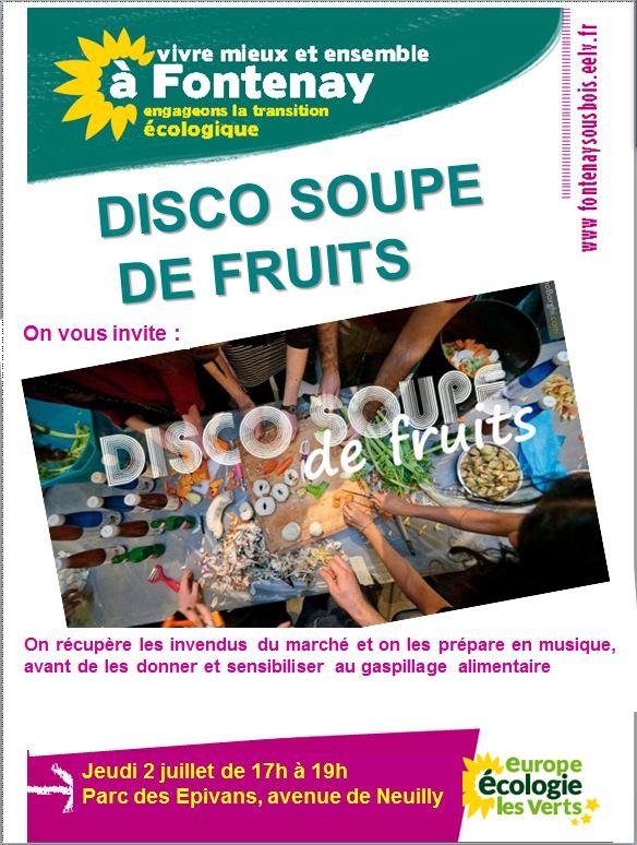 Affiche discosoupedefruits