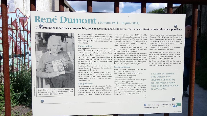 Bibliothèque De Fontenay Sous Bois eco parc des carrières – rené dumont | europe ecologie les